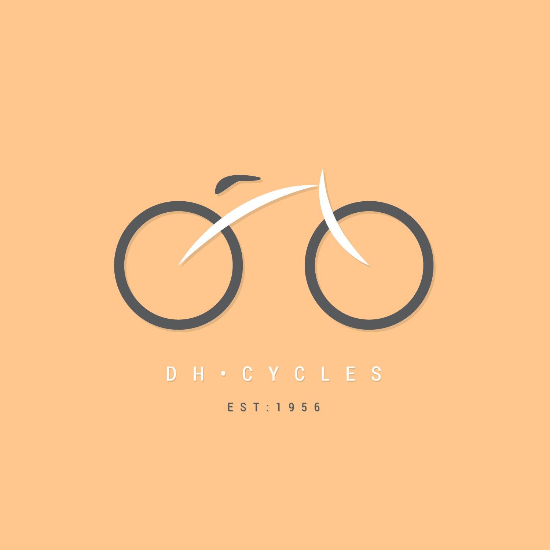 DH-Cycles-Logo-Design