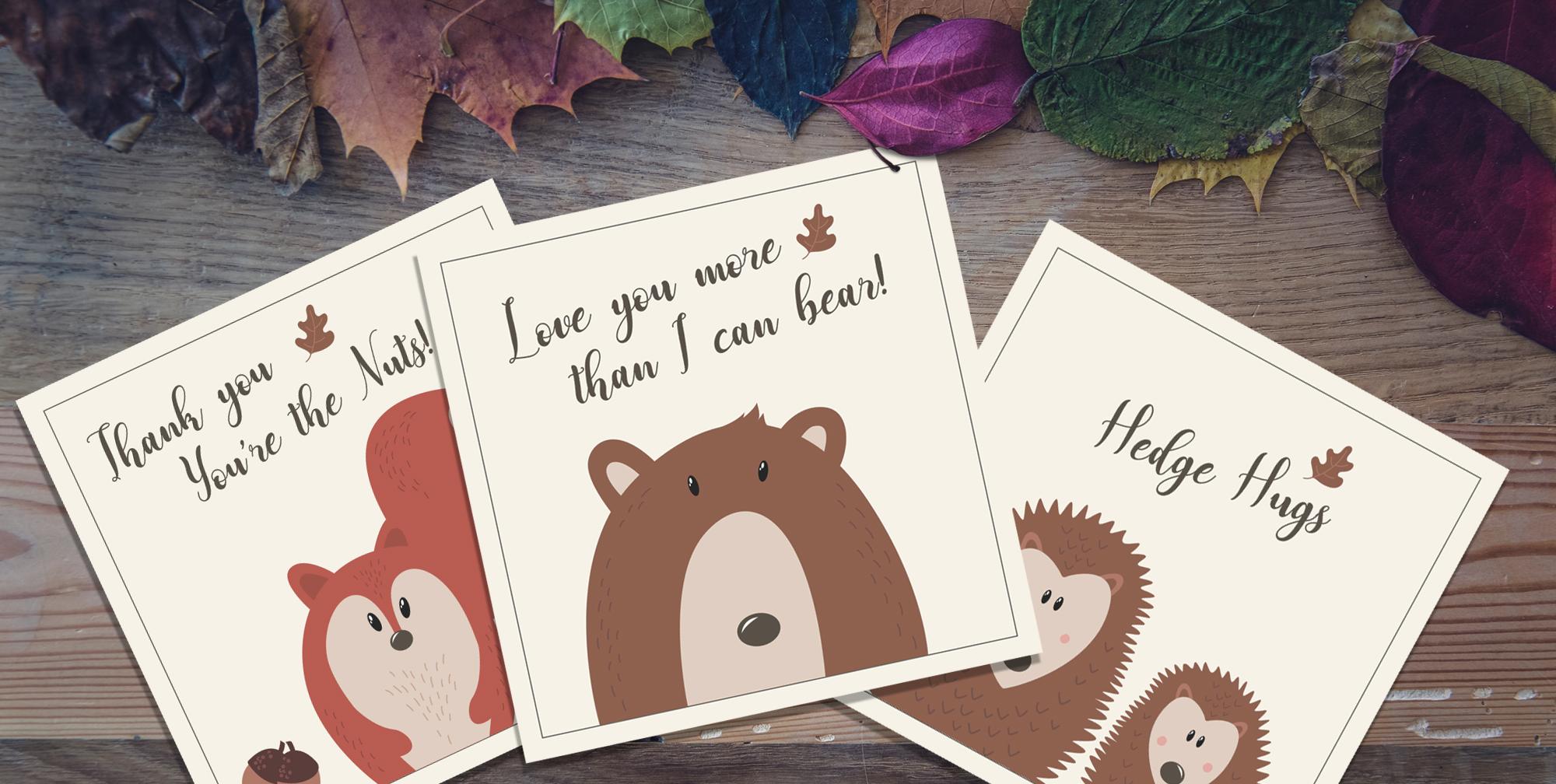 MAMA BEAR CARD ILLUSTRATIONS